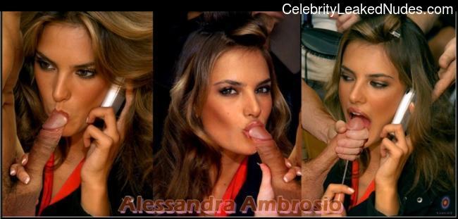 Alessandra Ambrosio celebrity naked pics
