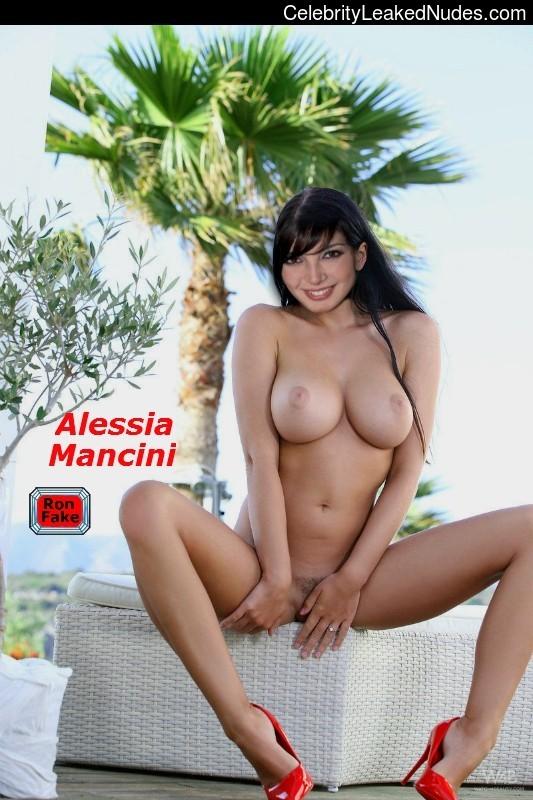 Alessia Mancini naked celebrities