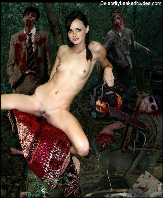 Newest Celebrity Nude Alexis Bledel 28 pic