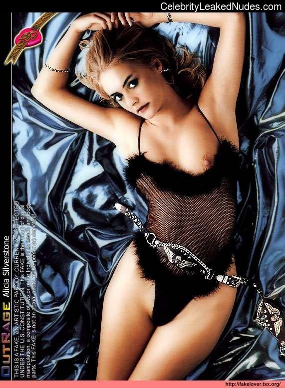 Celebrity Nude Pic Alicia Silverstone 25 pic
