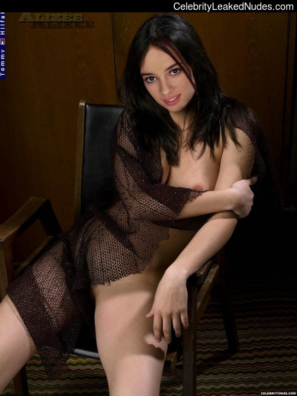 Alizee nude celebrities