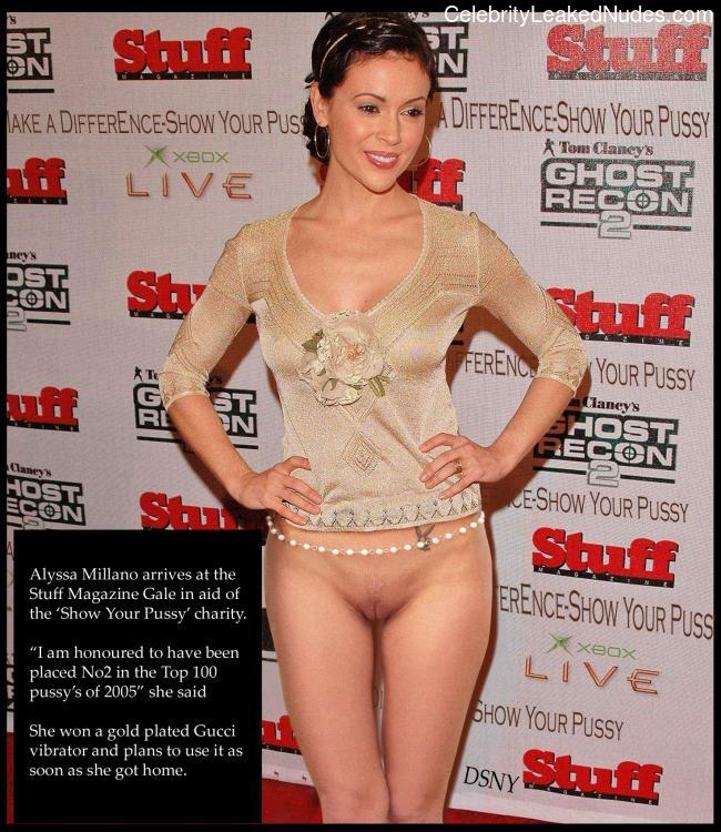 Celebrity Leaked Nude Photo Alyssa Milano 9 pic