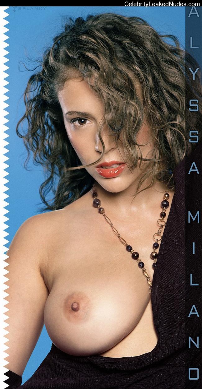 Newest Celebrity Nude Alyssa Milano 18 pic