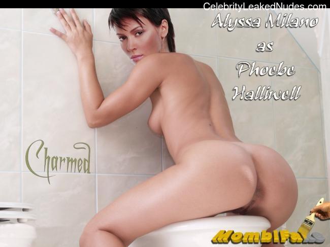 Celeb Nude Alyssa Milano 13 pic