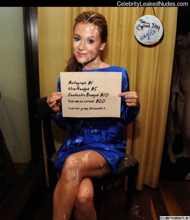 nude celebrities Alyssa Milano 6 pic