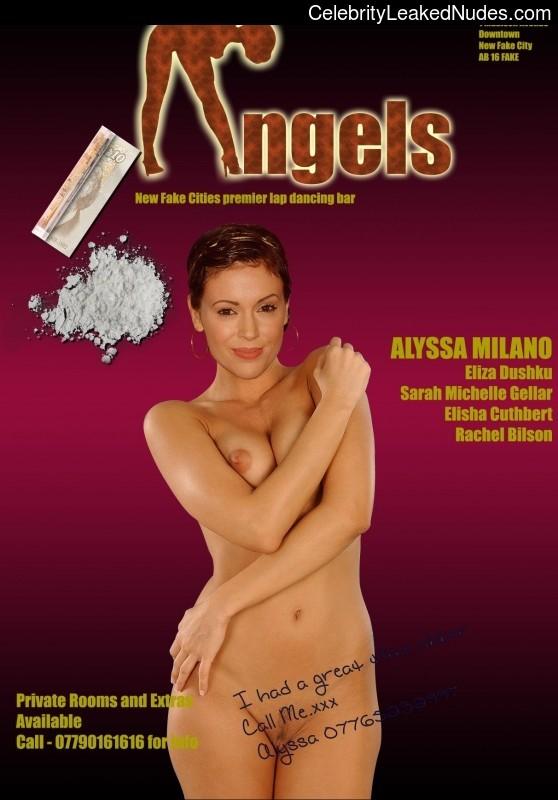 celeb nude Alyssa Milano 10 pic