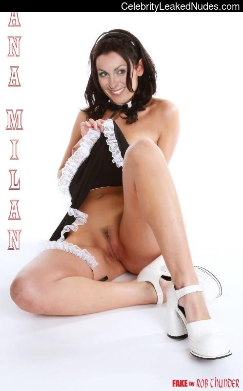 Naked Celebrity Pic Ana Milan 3 pic