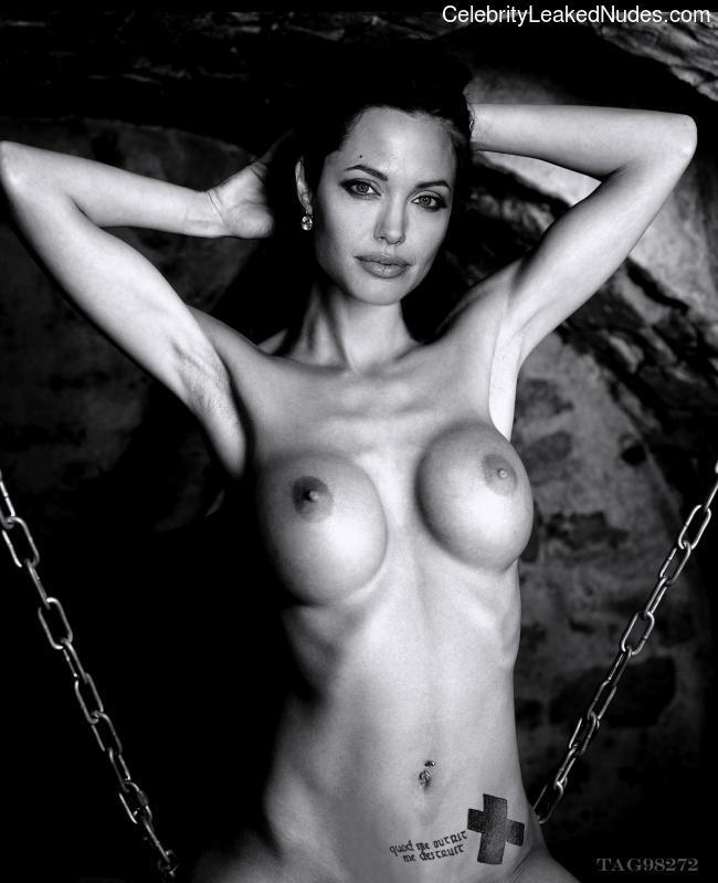 Naked Celebrity Angelina Jolie 15 pic