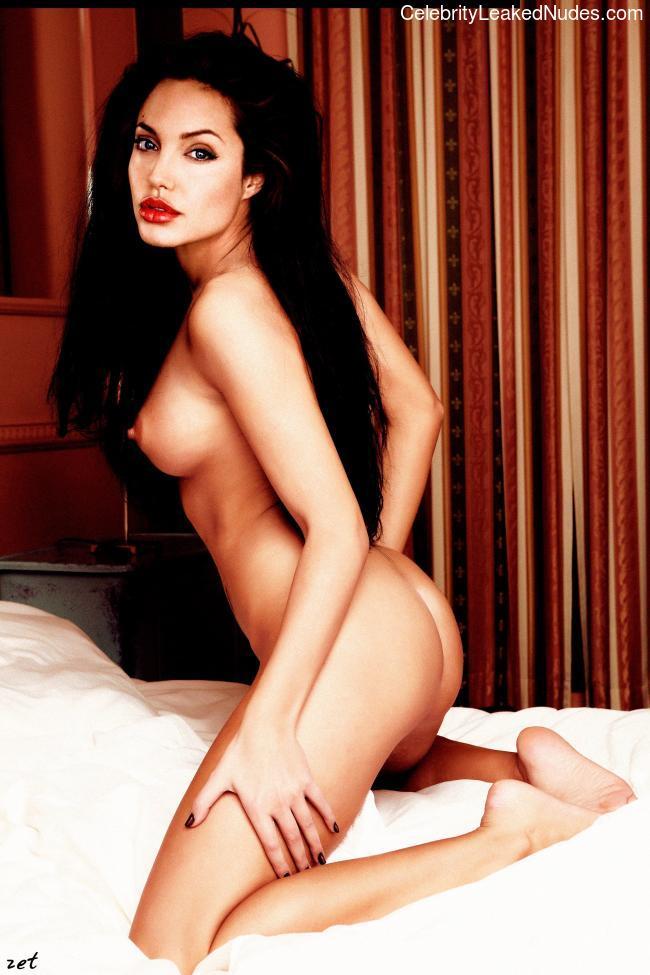 Naked Celebrity Angelina Jolie 8 pic