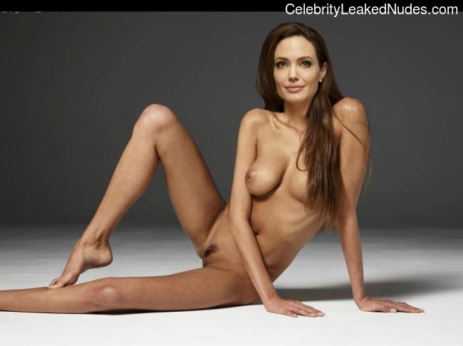 Famous Nude Angelina Jolie 2 pic