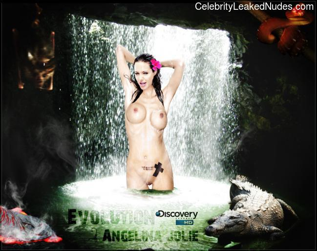 Real Celebrity Nude Angelina Jolie 9 pic
