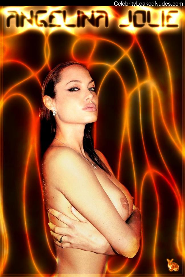Newest Celebrity Nude Angelina Jolie 3 pic