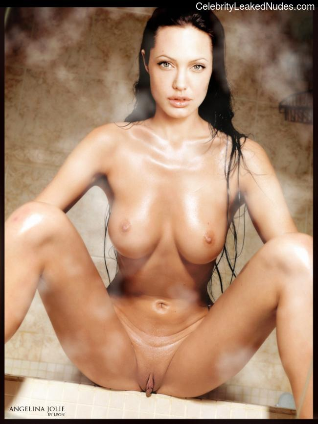Celebrity Leaked Nude Photo Angelina Jolie 2 pic