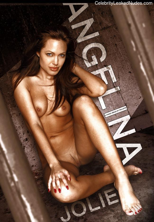 Celebrity Leaked Nude Photo Angelina Jolie 24 pic
