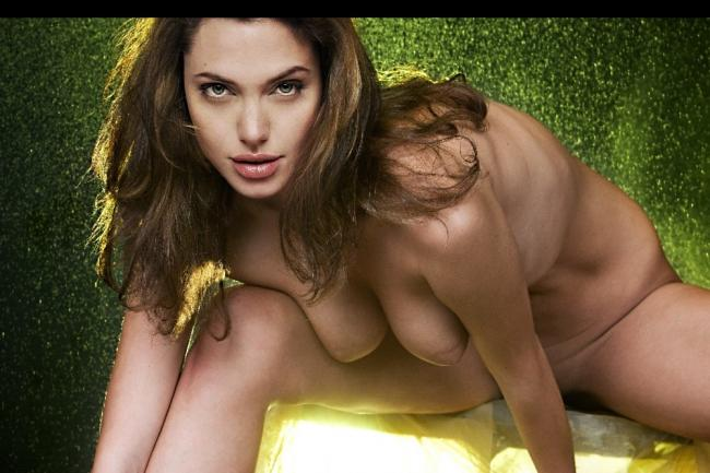 Naked Celebrity Pic Angelina Jolie 1 pic