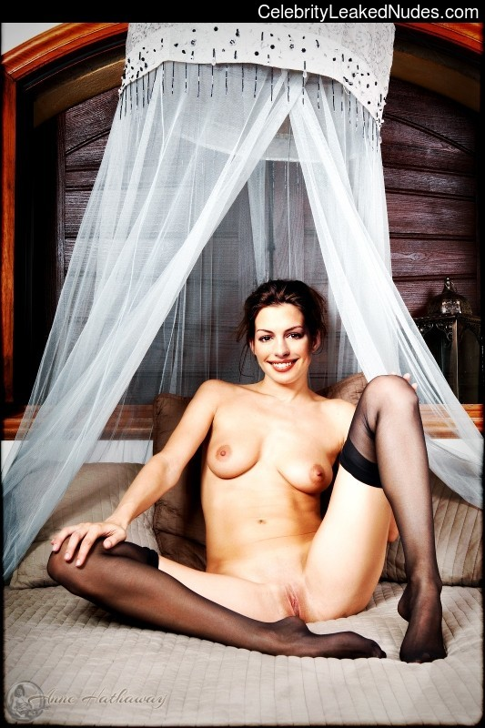 Famous Nude Anne Hathaway 6 pic