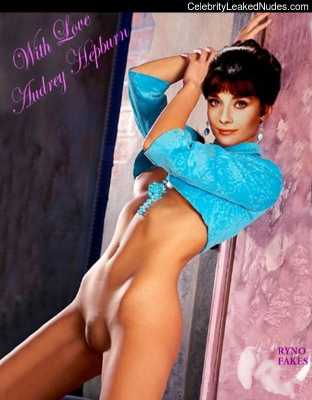 Audrey hepburn nude real