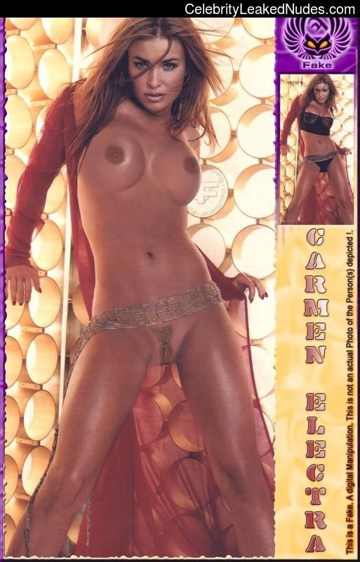 Celebrity Leaked Nude Photo Carmen Electra 26 pic