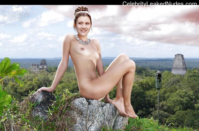 celeb nude Carrie Fisher 3 pic