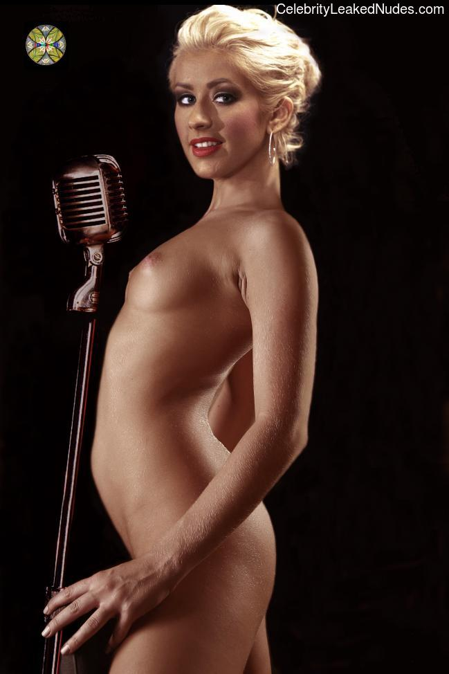 Celebrity Naked Christina Aguilera 16 pic