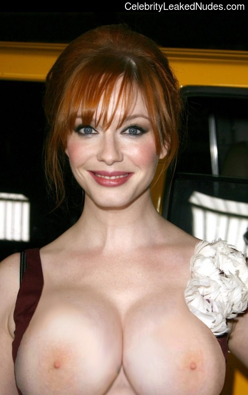 With Christina hendricks boobs nude leaked