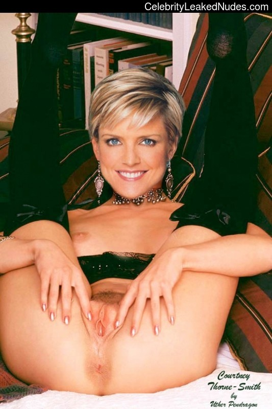 Think, Courtney thorne smith nude real have