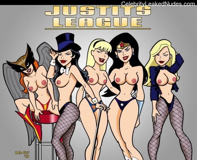 DC Comics naked