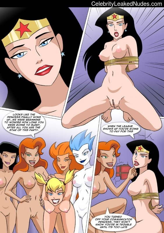 Nude Celeb DC Comics 18 pic