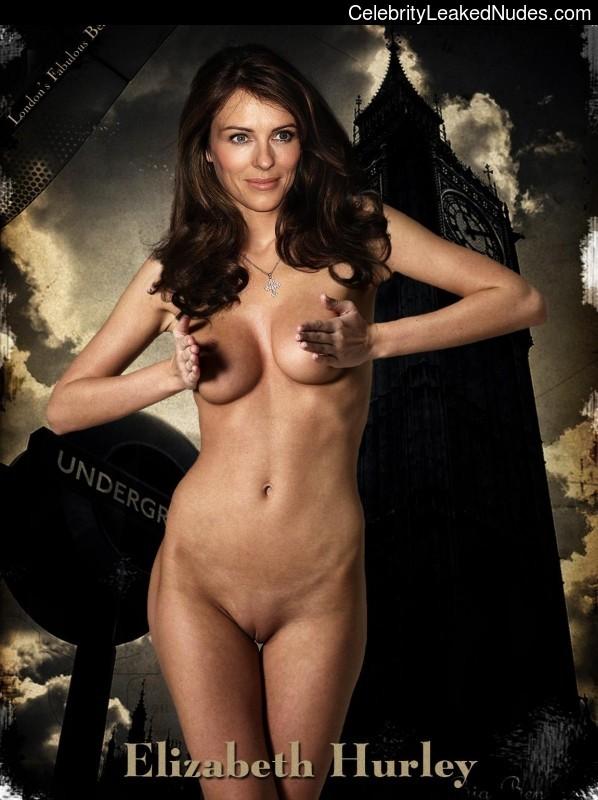 naked Elizabeth Hurley 19 pic