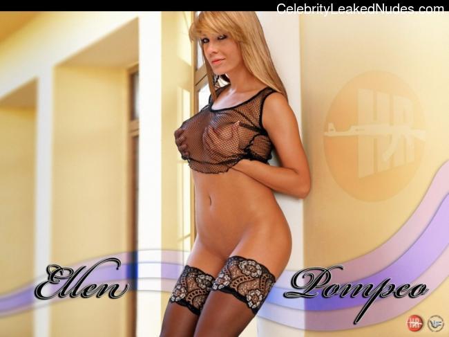 Ellen Pompeo celebrities naked