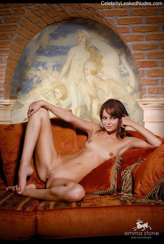Naked Celebrity Pic Emma Stone 5 pic