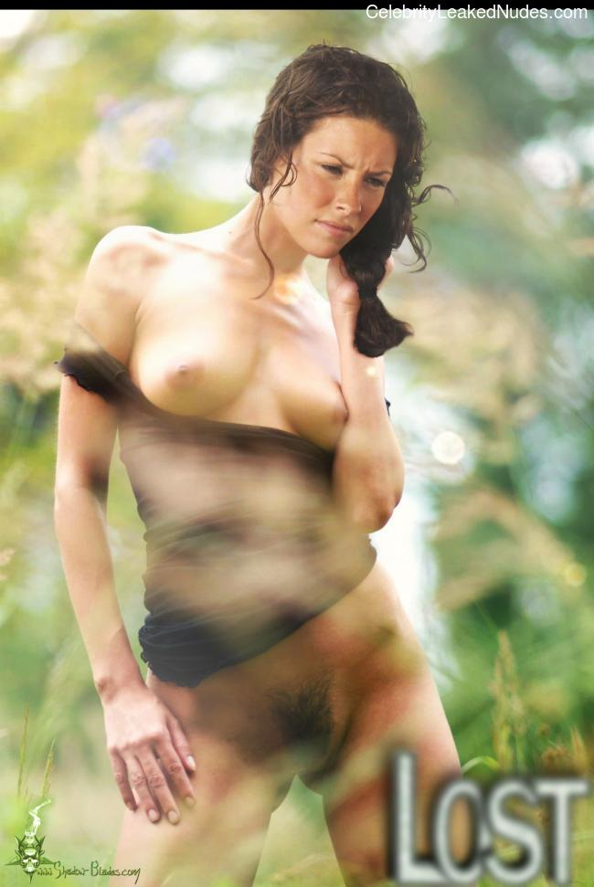 Congratulate, your Evangeline lilly nude pic consider