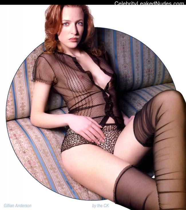 Celebrity Naked Gillian Anderson 5 pic
