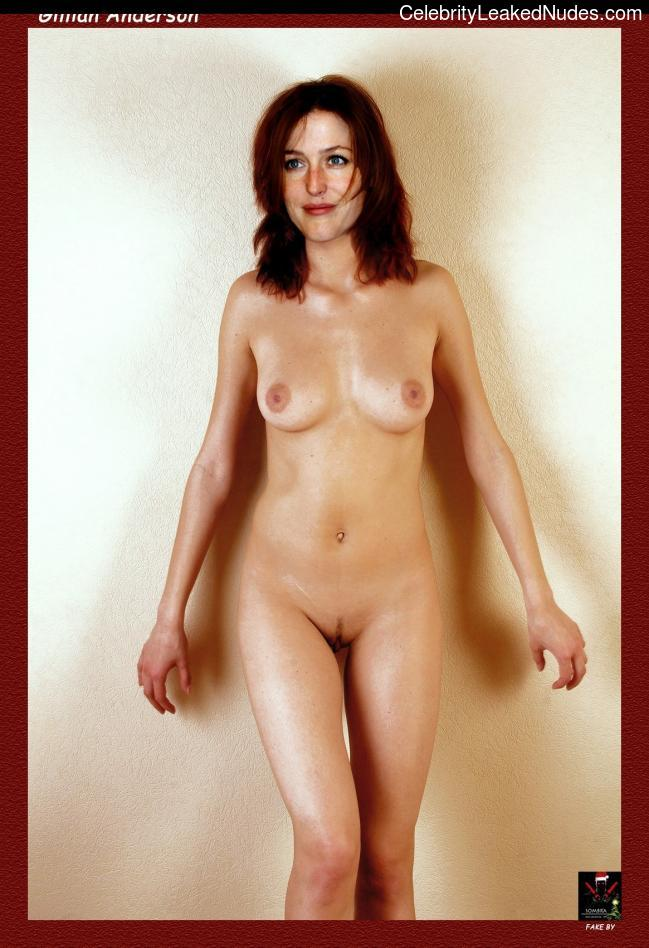 Best Celebrity Nude Gillian Anderson 22 pic