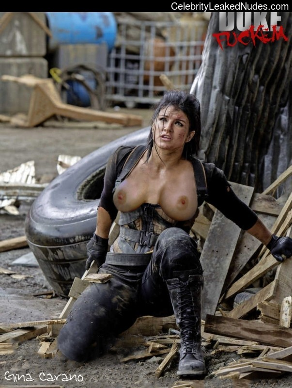 Thought the gina carano a lesbian sexy
