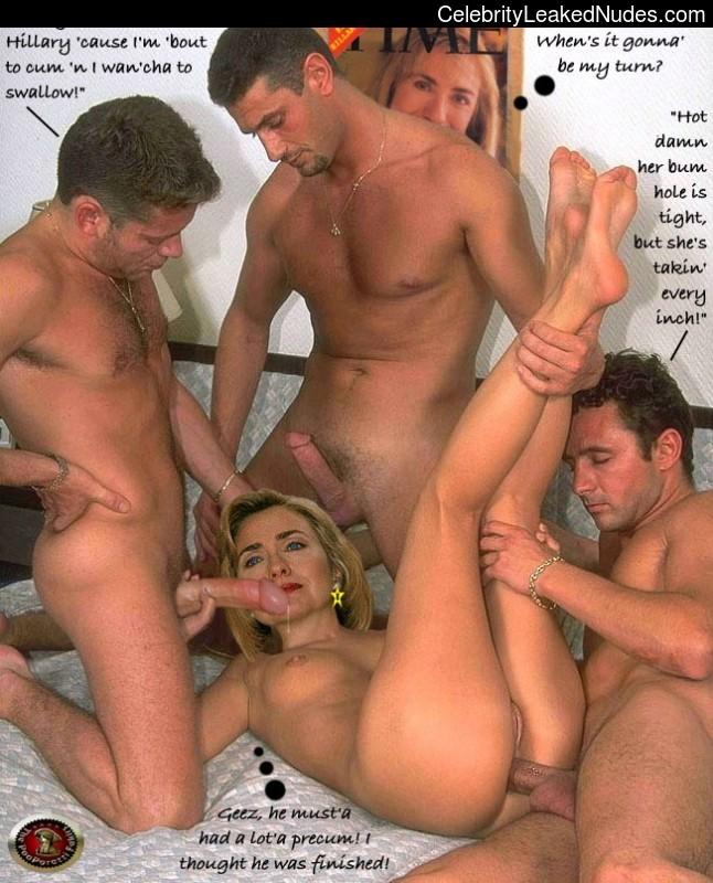Hillary clnton fake nudes hq photo porno