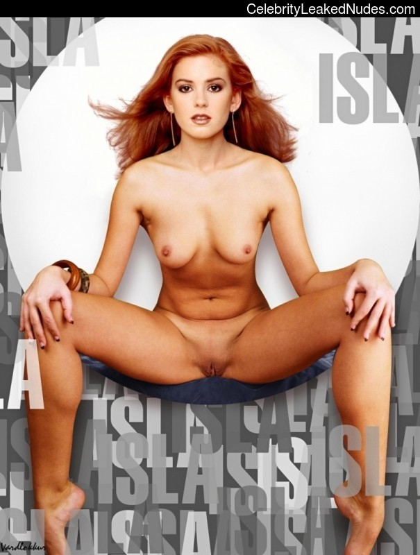 Isla Fisher fake nude celebs