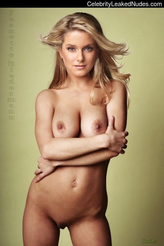 Jeanette Biedermann fake nude celebs