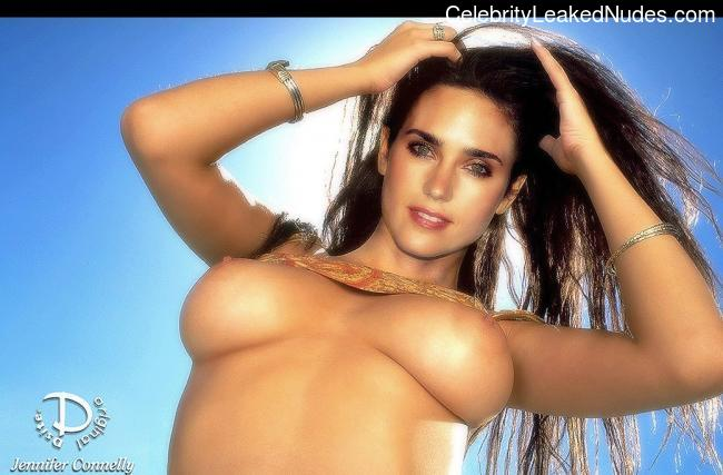 Hot Naked Celeb Jennifer Connelly 28 pic
