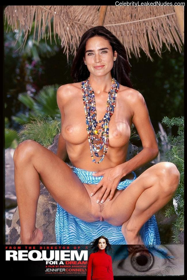 Hot Naked Celeb Jennifer Connelly 5 pic