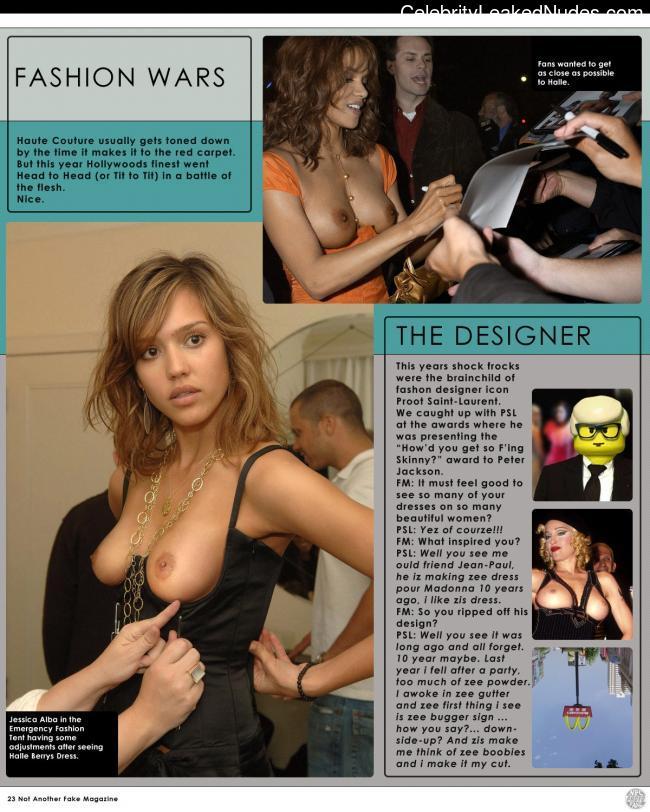 Real Celebrity Nude Jessica Alba 11 pic