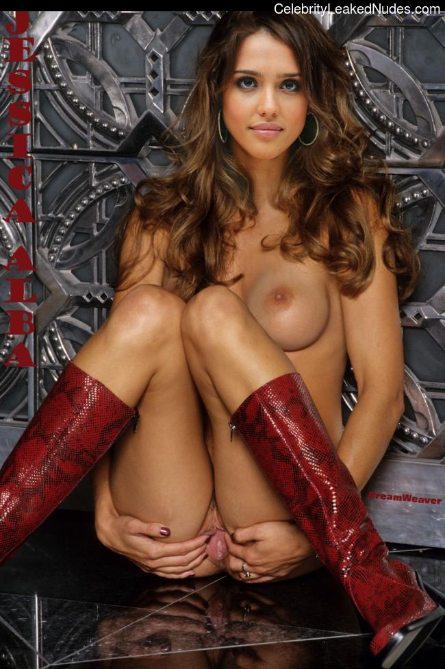 Naked celebrity picture Jessica Alba 14 pic