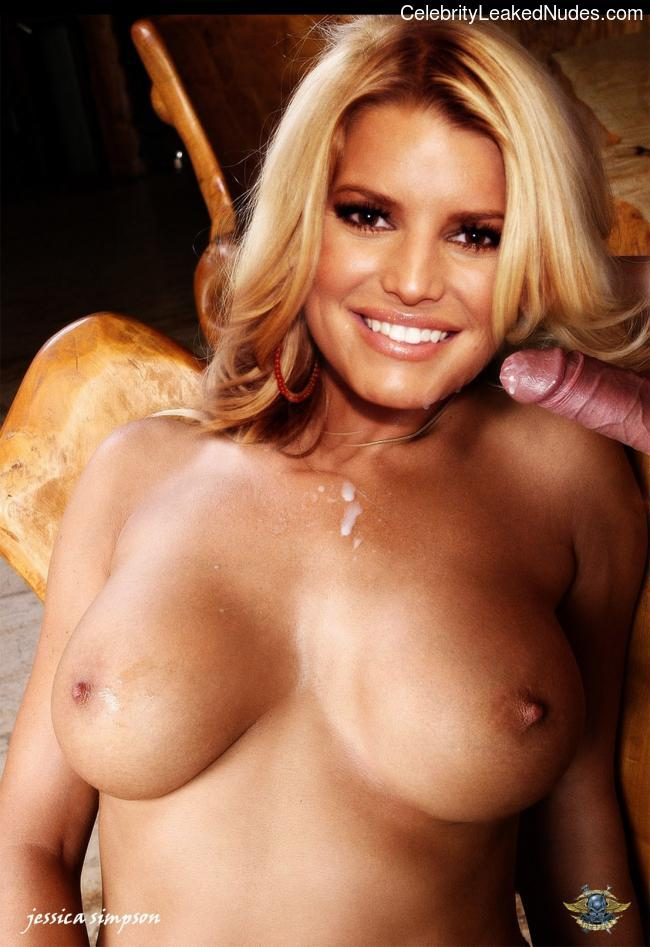 Celebrity Leaked Nude Photo Jessica Simpson 8 pic