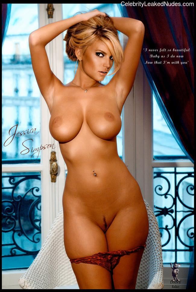 Naked Celebrity Pic Jessica Simpson 4 pic
