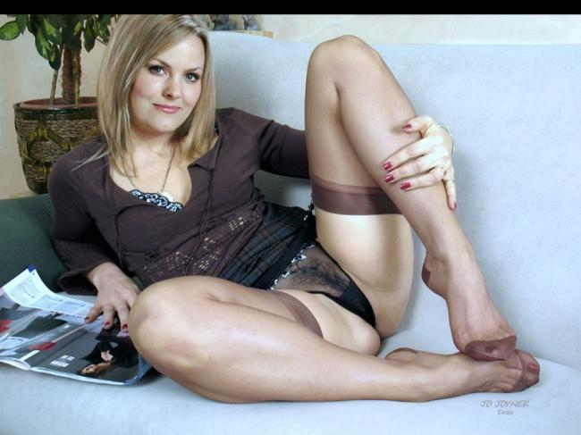 Jo Joyner naked