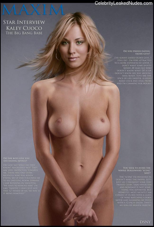 celeb nude Kaley Cuoco 30 pic