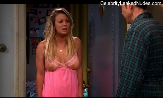 Kaley Cuoco naked celebrity pics
