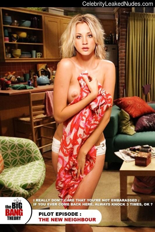Celeb Nude Kaley Cuoco 7 pic