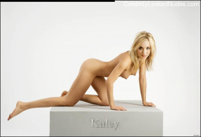 Newest Celebrity Nude Kaley Cuoco 6 pic