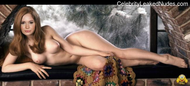 Celebrity Leaked Nude Photo Karen Gillan 2 pic